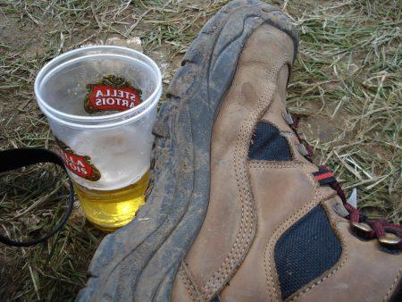 Stella proasta si scumpa la festivalul Rock Werchter in Belgia