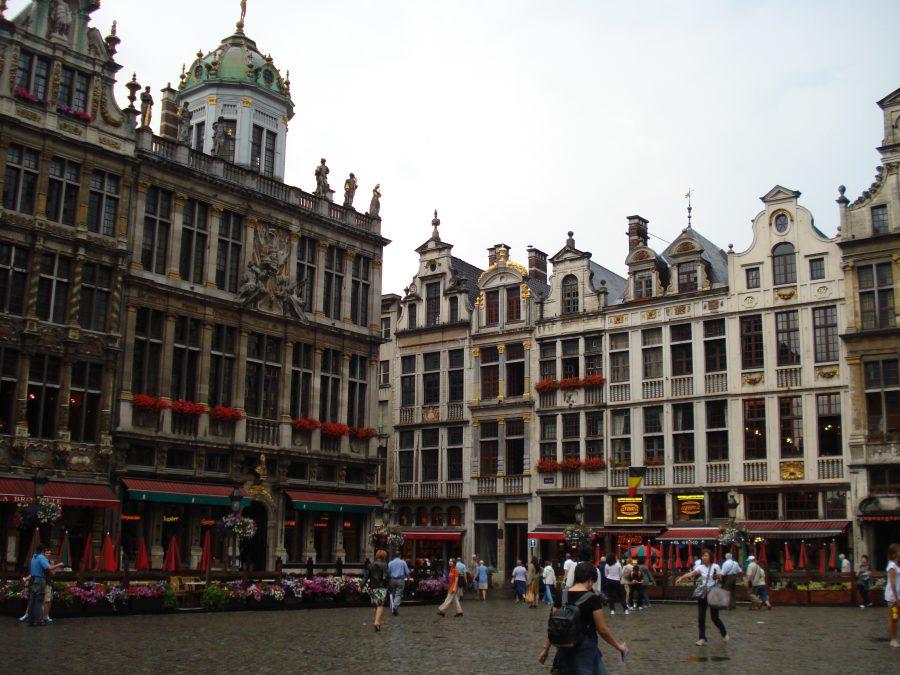 Piață în centrul Bruxelles