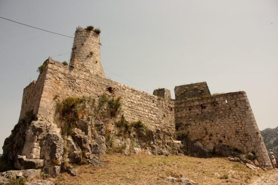 Fortăreața Klis din Croația