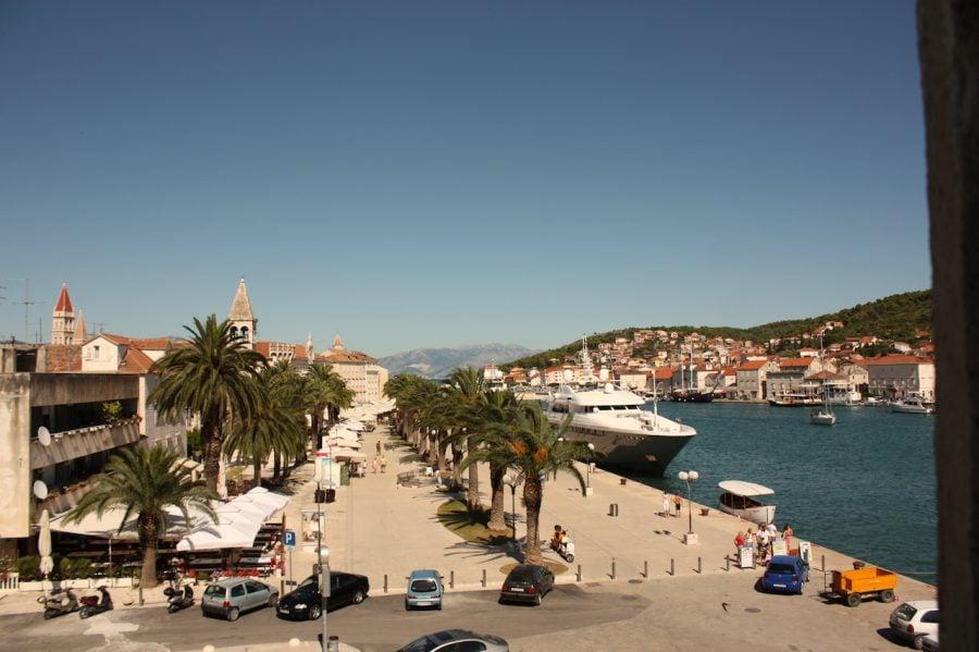 Faleza din Trogir, Croația