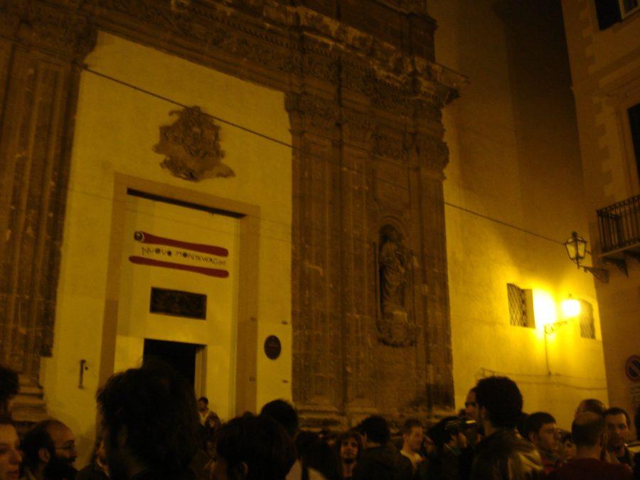 Nouvo Montevergini - club într-o biserică, Palermo