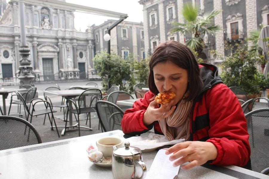 Arancina la Cafe dell Duomo, Catania