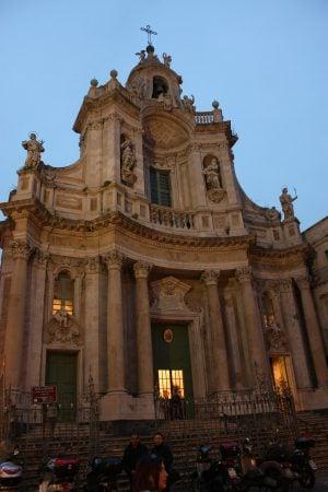Basilica della Colegiata, Catania, Sicilia