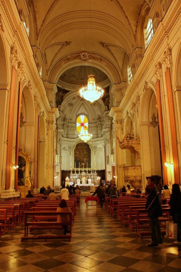 Biserica San Francesco Borgia din Catania