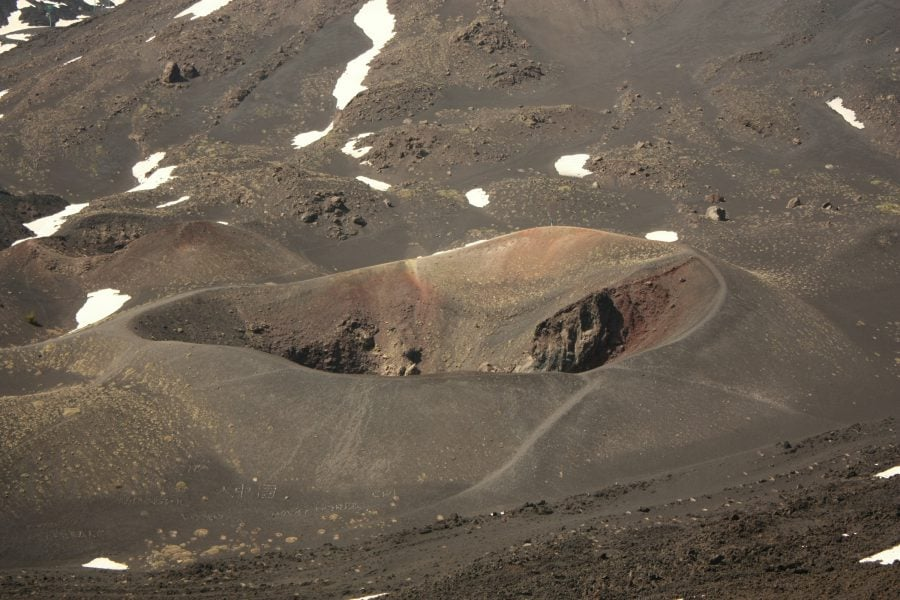 Crater inactiv Etna