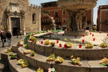 Fântână din Taormina