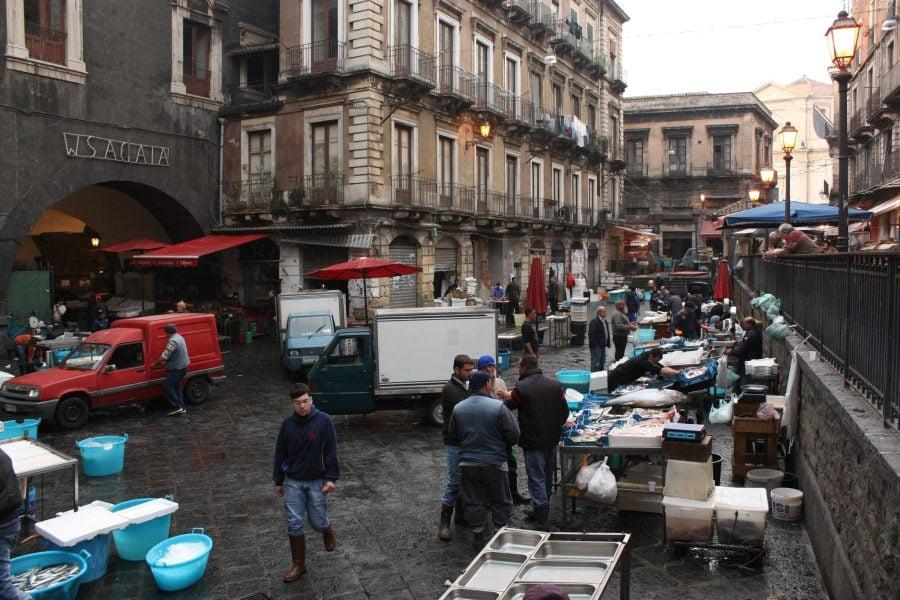 Piața de pește din Catania