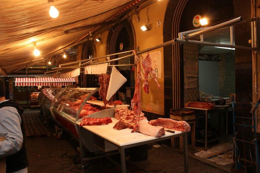 Piața din centrul Cataniei