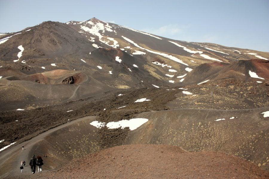 Plimbare pe vulcanul Etna
