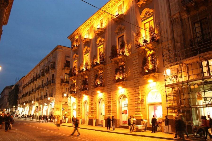 Catania noaptea