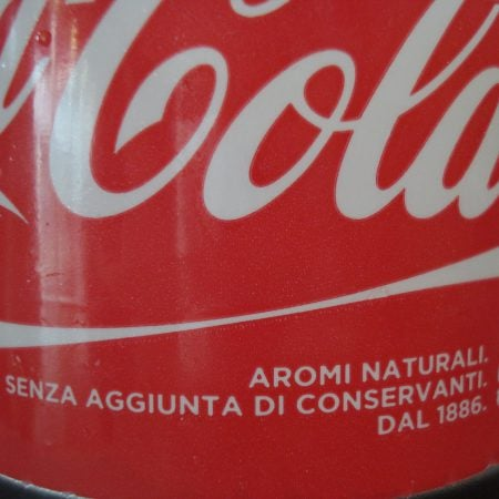 Cola - Natural flavors and no preservatives. Great!