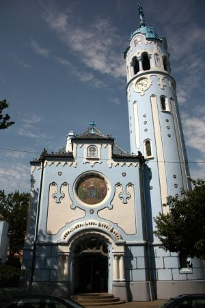 Biserica Albastră din turtă dulce, Bratislava, Slovacia