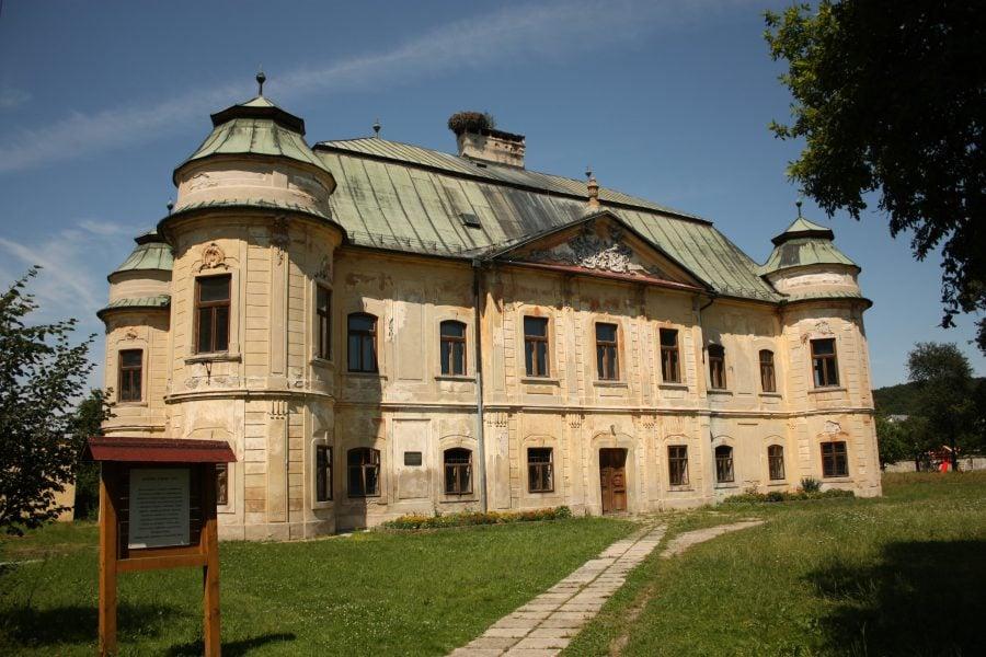 Castel din Hronsek, Slovacia