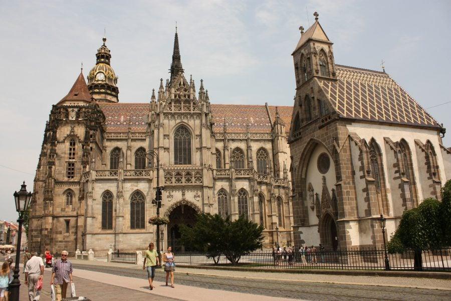 Catedrala în Kosice, Slovacia