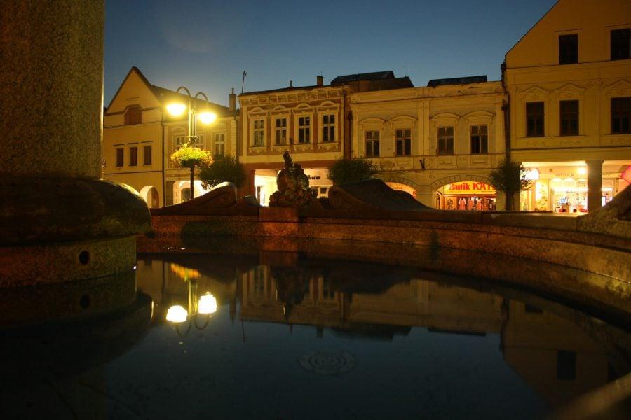 Zilina pe seară, Slovacia