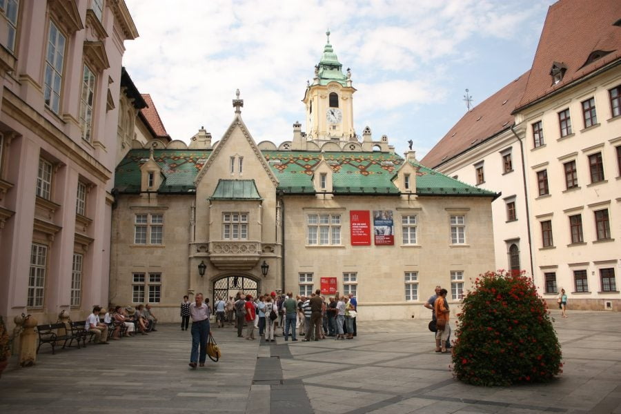 Primăria veche din Bratislava, Slovacia