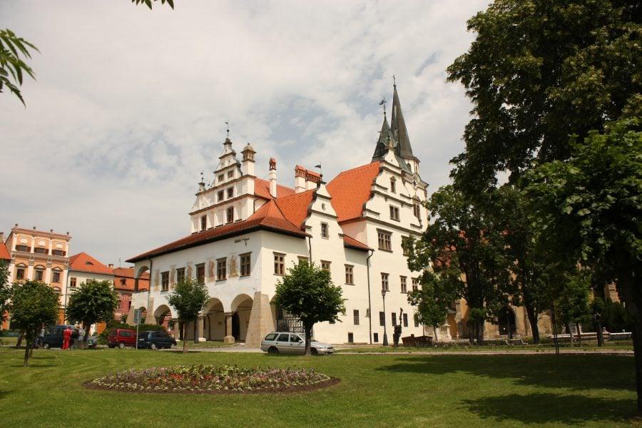 Centrul orașului Levoca