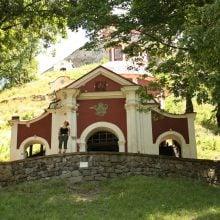 Capelă pe drumul patimilor lui isus Banska Stiavnica