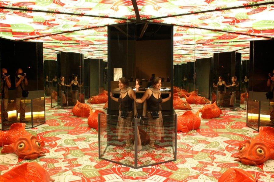Camera oglinzilor, expoziția lui Escher la Museul Științelor din Granada