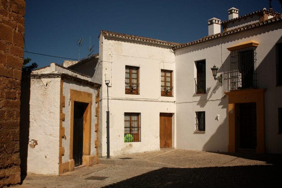 Străzile din Ronda, Andalusia, Spania