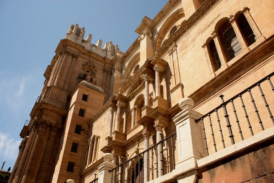 Catedrala de la Encarnacion, Malaga, Spania