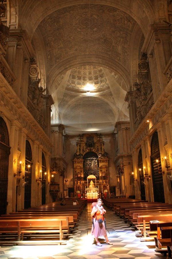 Interiorul Biserici del Sagrario, Sevilia