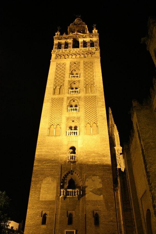 La Giralda, turnul clopotniței, Catedrala din Sevilia