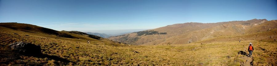 Plimbare către Mirador, Parcul Național Sierra Nevada, Andalusia