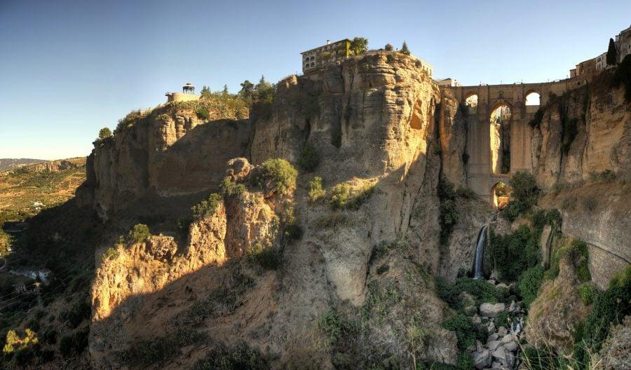 Podul Nou din Ronda, Andalusia