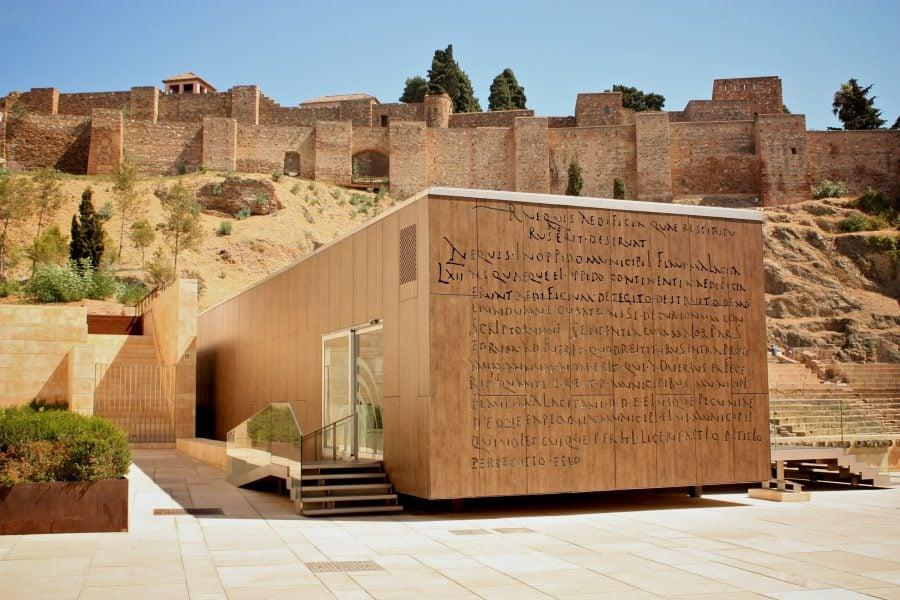 Teatrul Roman și Alcazaba, Malaga, Spania