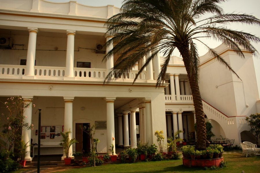 Casa colonială Colombani, Pondicherry (Puducherry), Tamil Nadu, India