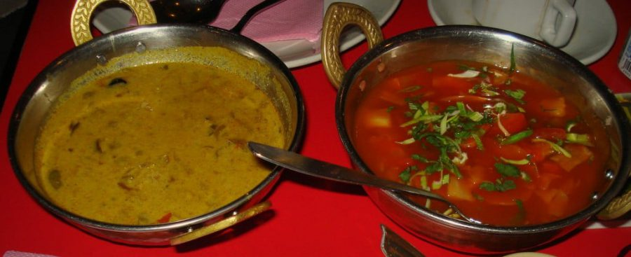 Paneer Tikka Masa si Sweet & Sour Vegetables, Tamil Nadu, India