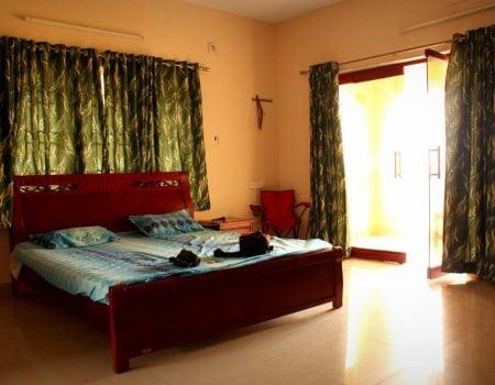 Hotel Dancing Waves - camera dubla, Mamallapuram, Tamil Nadu, India