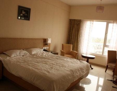 Hotel Krishna Inn - camera dubla, Tricky, Tamil Nadu, India