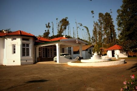 Hotel Mount View - exterior, Ooty, Tamil Nadu, India
