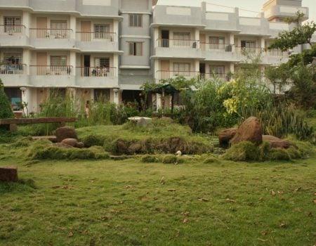 Hotel Sri Aurobindo Ashram Park Guest House - gradina 3, Pondicherry, Tamil Nadu, India