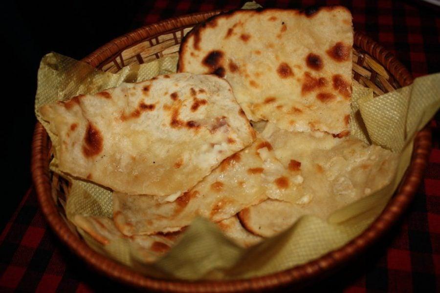 Cheese Garlic Naan, Tamil Nadu, India
