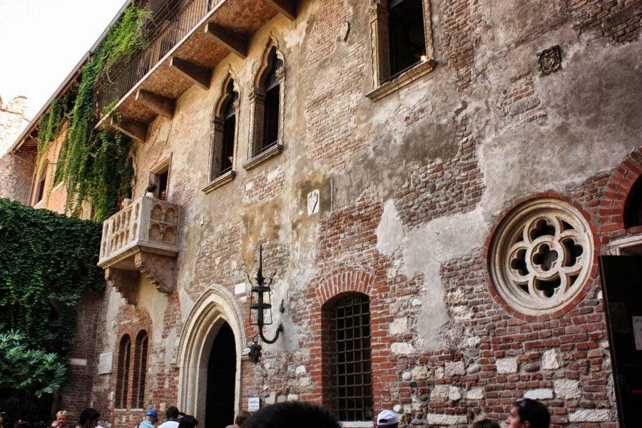Balconul Julietei, Verona, Italia