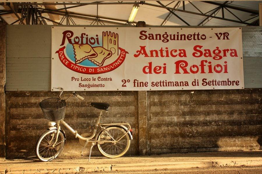 Festivalul Antica Sagra dei Rofioi, in Sanguinetto, Italia