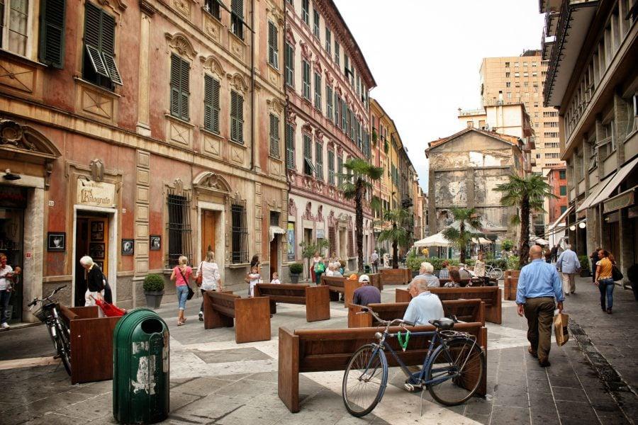 Piata in La Spezia, Italia
