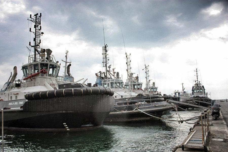 Portul din La Spezia, Italia