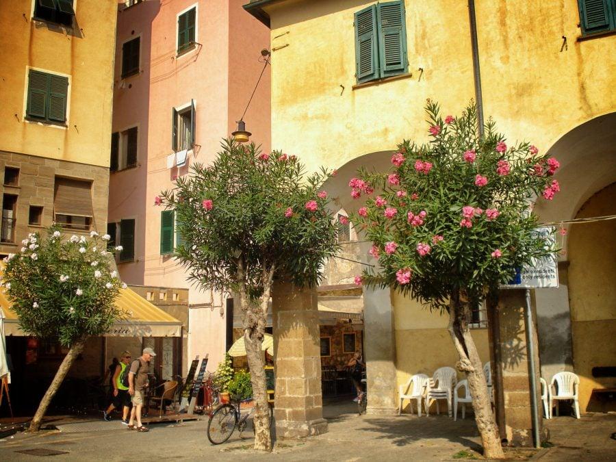 Strazile din Monterosso al Mare, Cinque Terre, Italia