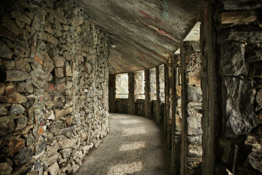 Tunel pe Via dell'Amore, Cinque Terre, Italia