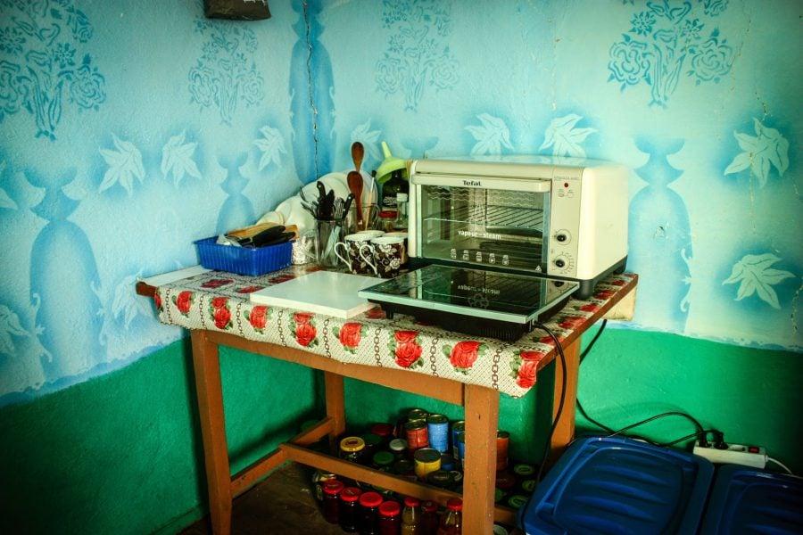 Bucatarie improvizata in Bigar
