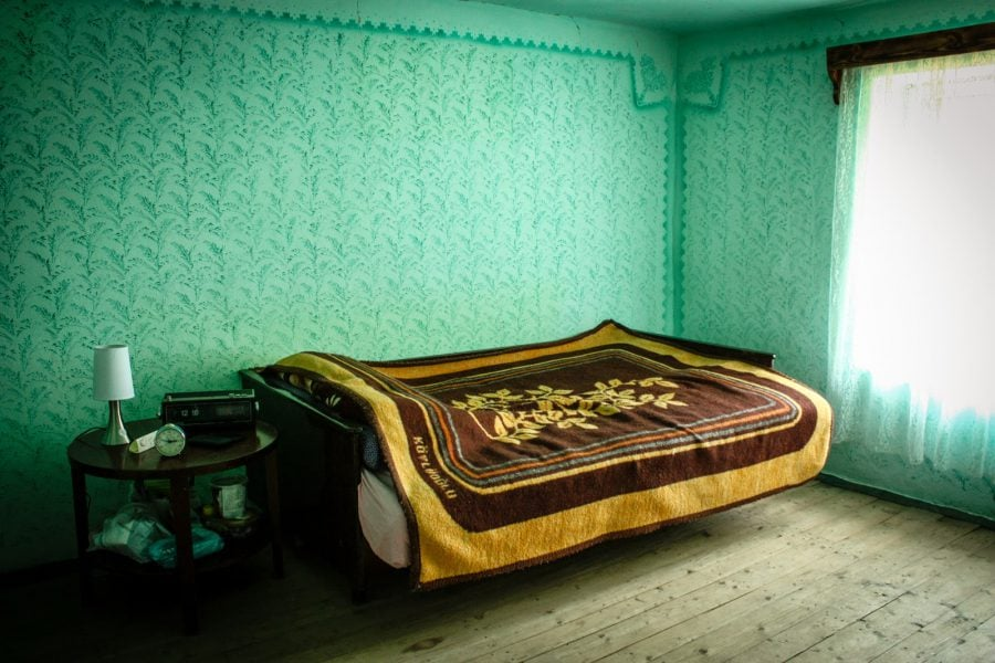Camera curata din gospodaria noastra din Bigar