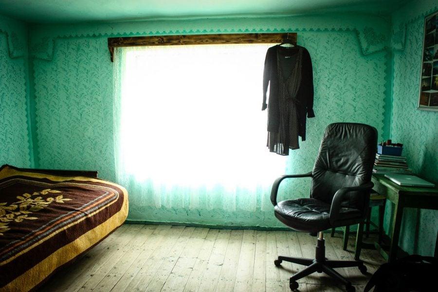 Camera curata in gospodaria noastra din Bigar