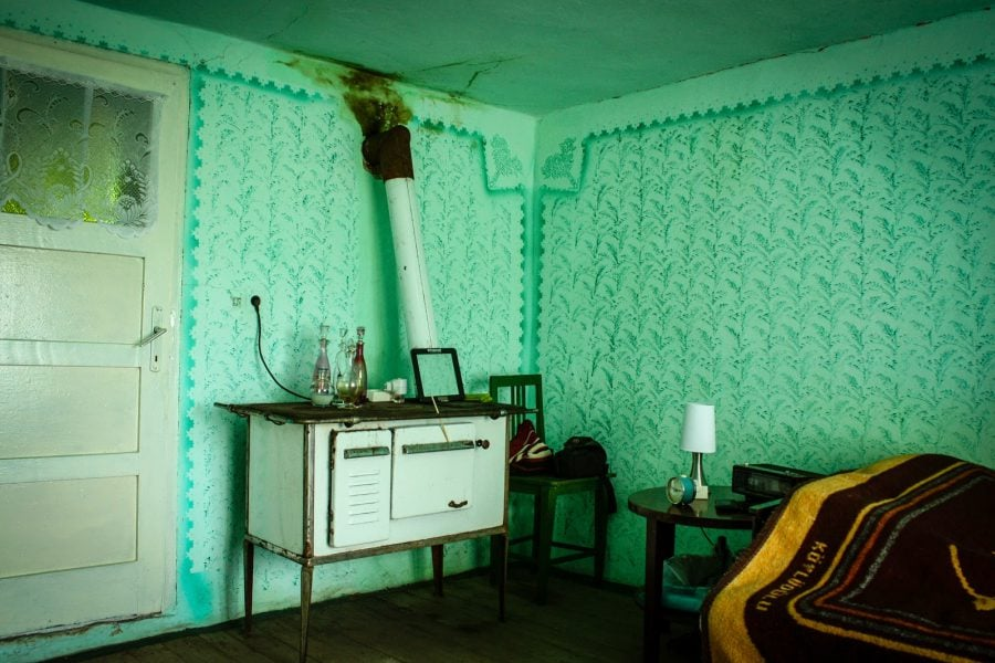 Soba veche camera taraneasca