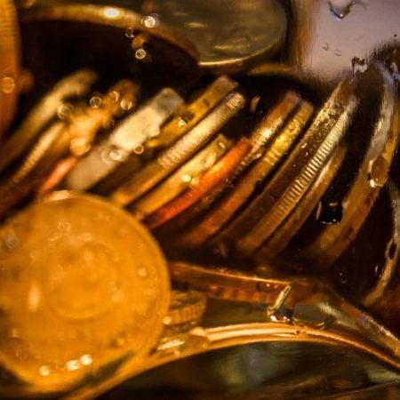 Monede la borcan