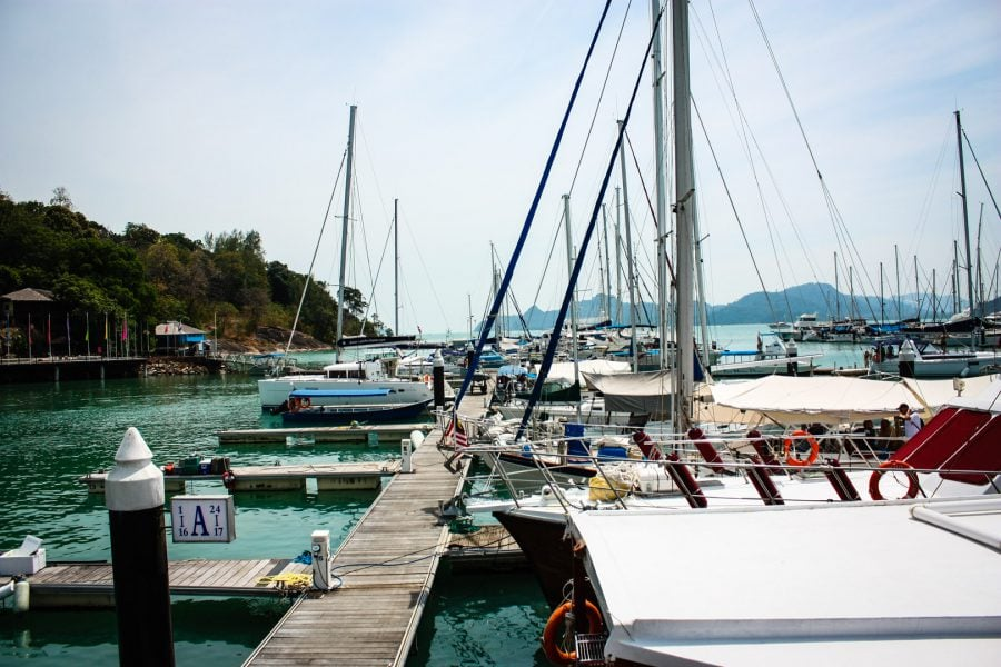 Portul din Langkawi