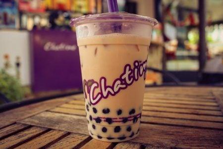 Ceai cu bule gelatinoase Chatime